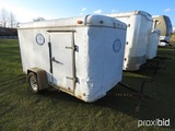 Glidewell 12' Enclosed Trailer (No Title - Bill of Sale Only): S/A, Bumper-