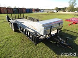Big Tex 50LA 18' Trailer (No Title - Bill of Sale Only): Bmper-pull, Ramp,