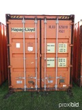 40' Shipping Container, s/n HLXU6250100