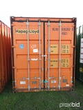 40' Shipping Container, s/n HLXU63062838