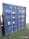 20' Shipping Container, s/n CMAU1416996