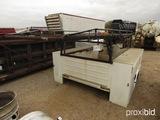 Knapheide 8' Work Bed Ladder Rack: off 2008 Chevy