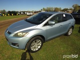 2007 Mazda CX-7 SUV, s/n JM3ER293570138574: Odometer Shows 155K mi.