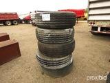 (5) 365/80R20 Tires