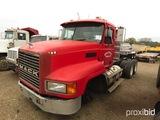 2001 Mack CH613 Truck Tractor, s/n 1M1AA14Y11W136904 (Salvage): T/A, Mack 4