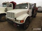 1990 International 4600 Fuel & Lube Truck, s/n 1HTSAZPM4LH684174 (Salvage):
