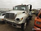 2006 International 7600 Truck, s/n 1HSWYAHR86J375804 (Salvage): T/A, SBA 6x