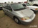 2000 Ford Windstar Mini Van, s/n 2FTZA5446YBB00869 (Salvage): Bad Fuel Pump