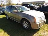 2006 Cadillac SRX SUV, s/n 1GYEE637360182587: 4-door, Odometer Shows 136K m