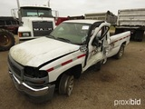 2005 GMC C1500 Pickup, s/n 1GTEC14VX5Z302696 (Salvage) (Owned by MDOT)