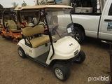 EZGo TXT48 Electric Golf Cart, s/n 3212668 (Salvage): 48-volt, No Charger