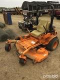 Scag Turf Tiger Zero-turn Mower, s/n D7500359 (Salvage): Model STT61V-27CH,