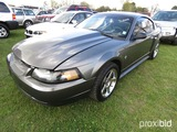 2003 Ford Mustang Mach I, s/n 1FAFP42R33F416611: Odometer Sho