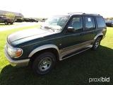 1996 Ford Explorer, s/n 1FMDU35PXTUC39948: V8 Eng., Auto, 2wd, Eddie Bauer