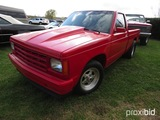 1987 Chevy S10 Pickup, s/n 1GCBS14E5H2247366: Race Truck, 383 Stroker