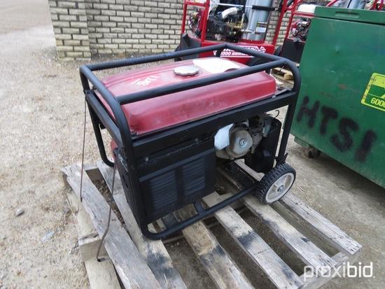 Amico 5500-watt Portable Generator: Gas Eng.