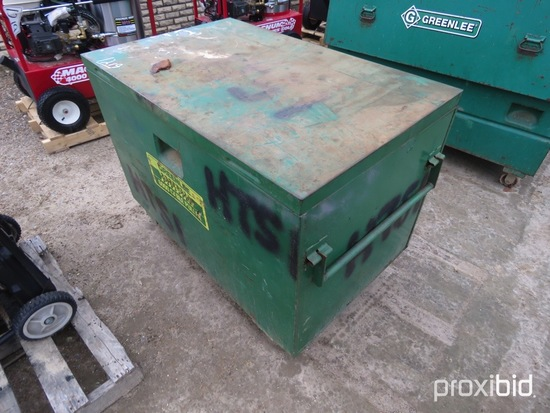 Greenlee Storage Box w/ Misc. Cable Pulling Components