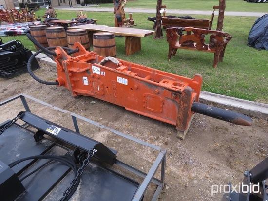 NPK E216 Hydraulic Hammer: fits 28-43 Ton Excavator, Chisel Tool