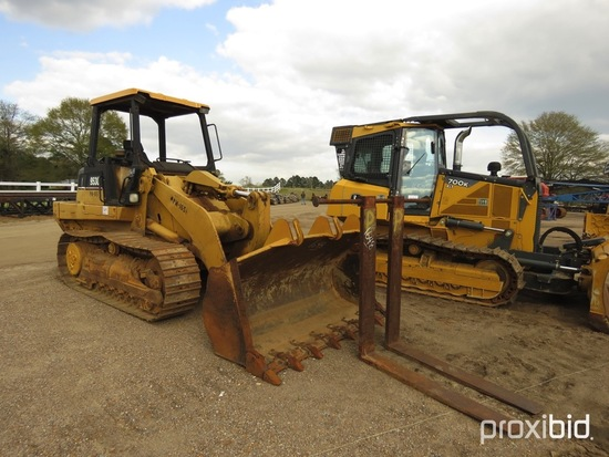 "2003 Cat 953C Crawler Loader, s/n 2ZN05549: 4-post Canopy, GP Bkt. w/ 60"" F"