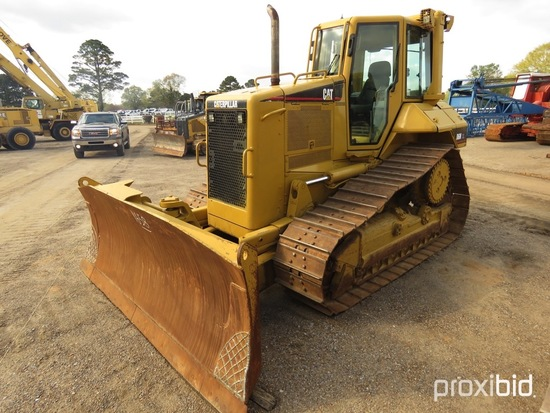 2005 Cat D6N XL Dozer, s/n CCK00626: C/A, 6-way Blade, Diff Steer, Drawbar,