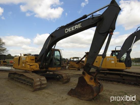 "2011 John Deere 200DLC Excavator, s/n 1FF200DXJA0512437: 54"" Bkt., Manual T"