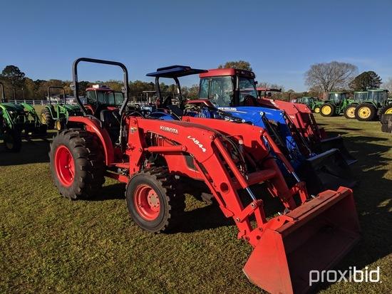 Kubota MX5100D MFWD Tractor, s/n 66700: LA844 Loader w/ Bkt., Meter Shows 2