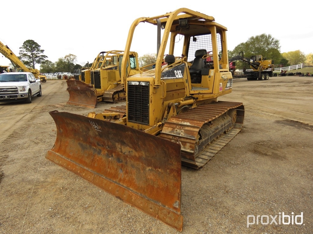 2004 Cat D5G LGP Dozer, s/n RKG00924: 4-post Canopy, Sweeps, 6-way Blade
