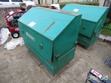 Greenlee Storage Box w/ Misc. Cable Pulling Components - Line Locator - Str