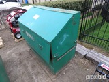 Greenlee Storage Box w/ Greenlee Cable Puller and Components