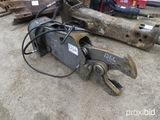 Genesis Versi Pro Hydraulic Rotating Shear: fits Excavator
