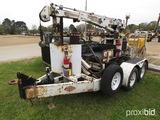 SDP EX Hauler Crane and Auger, s/n EZH981066: Kubota Diesel, Wireless Remot