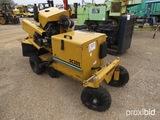 Vermeer SC352 Stump Grinder: Diesel Eng., Auto Sweep, Meter Shows 878 hrs
