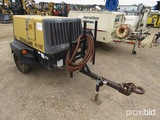 2008 Sullair 195 Portable Air Compressor, s/n 3170028: Cat Eng., Meter Show