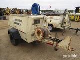 Ingersoll Rand 185 Air Compressor, s/n 168729U88329: Towable, JD 4-cyl. Die