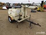 Amida LT7000 Light Plant, s/n 9411-2666: Hyd. Lift, Deutz 3-cyl. Diesel, 12