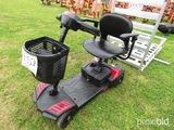 Scout Electric Handicap Cart, s/n SfSC0UT4-EXT: Little Use