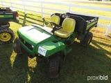 John Deere TX Gator 4X2 Utility Vehicle, s/n 1M0TURFJVDM081205 (No Title -