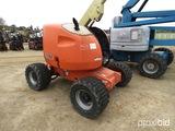 2001 JLG 450AJ Boom-type Manlift, s/n 0300060537: 24' Reach, 45' Height, Di