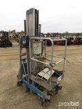 Genie AWP30 Vertical Manlift, s/n 3892-1148: 30', Battery or 120V