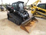 2014 Cat 299D XPS Skid Steer, s/n GTC01011: High Flow, C/A, Aux. Hydraulics