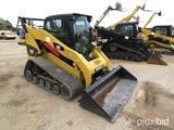 2007 Cat 287C Skid Steer Loader, s/n MAS00226: C/A, Heat, 2-sp., Hyd. Coupl
