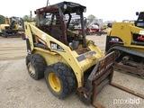 2002 Cat 246 Skid Steer, s/n 5SZ06241: Meter Shows 3488 hrs (Owned by Alaba