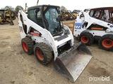 2011 Bobcat S185 Skid Steer, s/n A3L941125: Encl. Cab, Bkt., Meter Shows 21