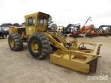 1991 Hydro Ax 520, s/n 3481: Encl. Cab, Winch, 8' Mower Head