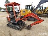 2000 Kubota KX41-2 Mini Excavator, s/n 20022: Meter Shows 2751 hrs