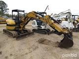 2006 Cat 304CR Mini Excavator, s/n NAD04089: Hyd. Thumb, Bkt.