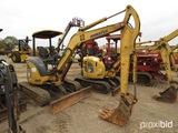 Komatsu PC35 Mini Excavator, s/n 8894: Blade