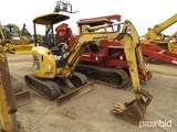 Komatsu PC20 Mini Excavator, s/n 16002: Blade
