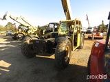 2007 Cat TL943 Telescopic Forklift, s/n TBL00907: Tilt Carraige, Aux. Hydra