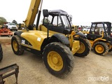 2005 Cat TH350B Telescopic Forklift, s/n SLD01130: Meter Shows 4382 hrs